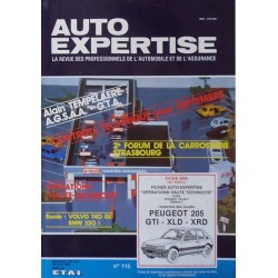 Auto Expertise Peugeot 205 GTi, XLD, XRD