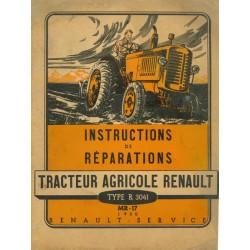 Renault R3041, manuel de réparation