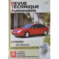 RTA Citroën C5 Diesel 2.0 et 2.2 HDi