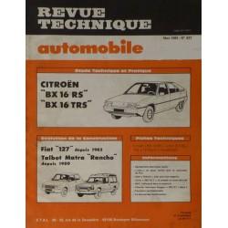 RTA Citroën BX 16RS, 16TRS