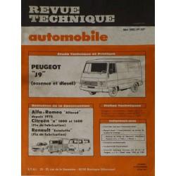 RTA Peugeot J9 Essence et Diesel