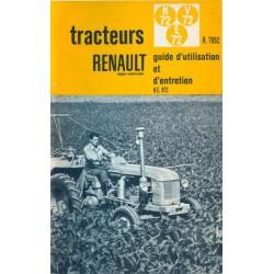 Renault N72, E72 et V72 (R7052), notice d'entretien