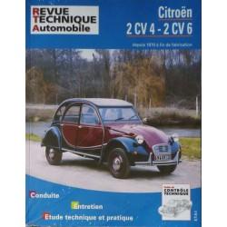 RTA Citroën 2cv4, 2cv6, 250, 400 depuis 1970