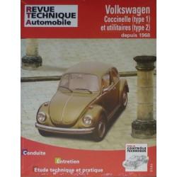 RTA Volkswagen Coccinelle type 1, Transporter type 2 depuis 1968