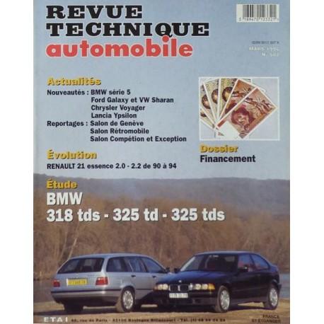 RTA Revue Technique Automobile BMW E36 318 tds, 325 td, 325 tds