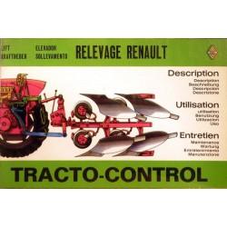 Renault tracto-control gamme D, notice d'entretien