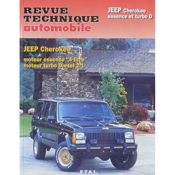 rta revue technique automobile jeep cherokee xj essence et turbo d. Black Bedroom Furniture Sets. Home Design Ideas