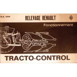 Renault tracto-control gamme D, fonctionnement