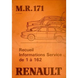 Renault, recueil Information Service (IS) 1 à 162