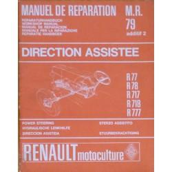 Renault Master 1 et 2, manuel de réparation direction assistée
