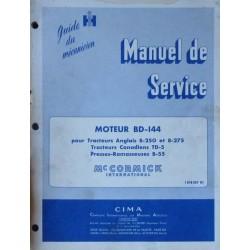 McCormick BD-144, manuel de réparation