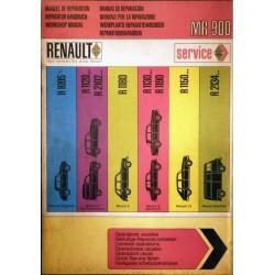 Renault, manuel de réparation des opérations usuelles