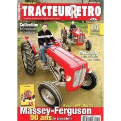 Tracteur Rétro n°1, Massey-Ferguson 35, 37, enjambeurs Lopa