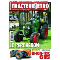 Tracteur Rétro n°4, Le Percheron, Someca Bi-Som-Trac