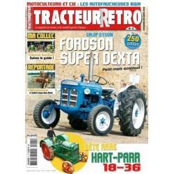 Tracteur Rétro n°5, Fordson Super Dextra, Hart-Parr 18-36, Kiva