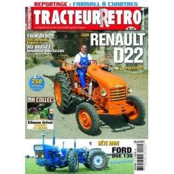 Tracteur Rétro n°10, Renault D22, Ford DOE 130