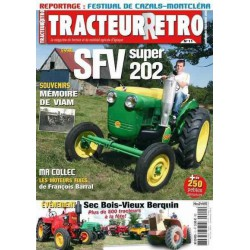 Tracteur Rétro n°11, SFV Super 202