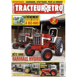 Tracteur Rétro n°22, Hanomag R545, Farmall Hydro