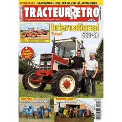 Tracteur Rétro n°24, International 533-SA, Dérot-Tecnoma A et G