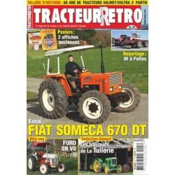 Tracteur Rétro n°25, Fiat Someca 670DT, Ford 8N V8