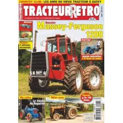 Tracteur Rétro n°27, Massey-Ferguson 1200, SOM 40