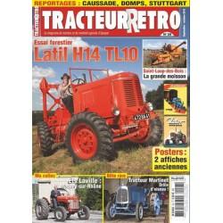 Tracteur Rétro n°28, Latil H14 TL10, tracteur Martinet
