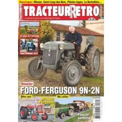 Tracteur Rétro n°30, Ford Ferguson 9N et 2N, Massey-Ferguson 97