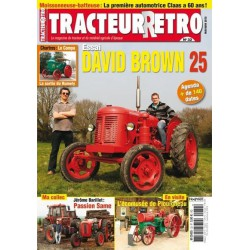 Tracteur Rétro n°32, David Brown 25, Claas Hercules et SF 55