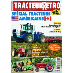 Tracteur Rétro Hors Série n°6, tracteurs Américains