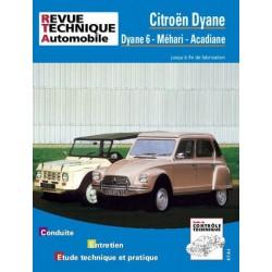 RTA Citroën Dyane 6, Méhari, Acadiane