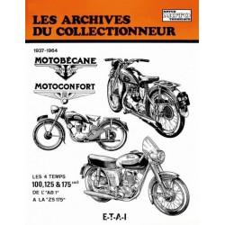 Les Archives Motobécane, Motoconfort 100 à 175 cm3, 1937-64