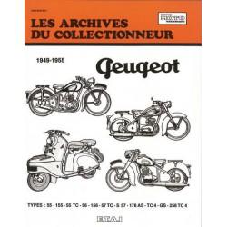 Les Archives Peugeot 100 à 250 cm3, 1949-55