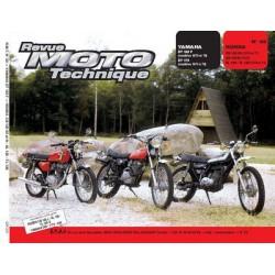 RMT Honda CB 125S, N, XL, TL et Yamaha DT125F, DT175F