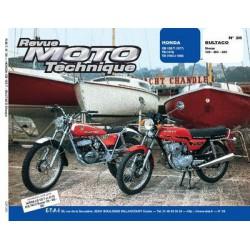 RMT Honda CB125T, TII, TD et Bultaco Sherpa 125, 250, 350