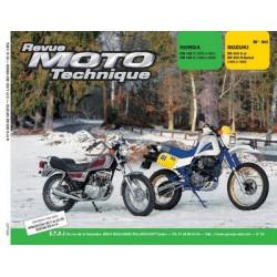 RMT Honda CM 125T, C et Suzuki DR 600 S, R Djebel