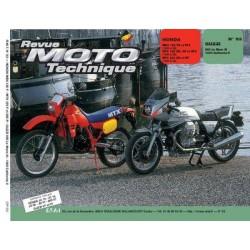 RMT Honda MBX, MTX 125, MTX 200 et Guzzi 850, 1000