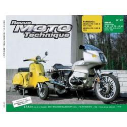RMT Piaggio Vespa PX125 et BMW série 7