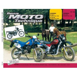 RMT Suzuki DR 125 S et Honda XLV 750