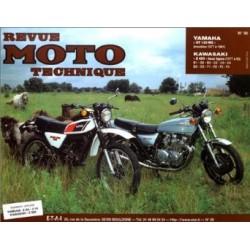RMT Yamaha DT 125 MX et Kawasaki Z650