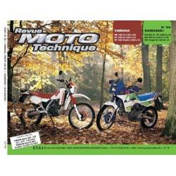 RMT Yamaha RD, DT 125 et Kawasaki KLR 600, 650