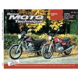 RMT Yamaha XS 500 et Honda CX, GL 400, 500, 650