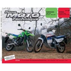 RMT Kawasaki KMX 125 et Honda XL 600V Transalp