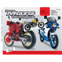RMT Suzuki RG 125 Gamma et Honda NX 650 Dominator, SLR 650