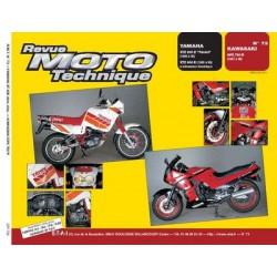 RMT Yamaha XTZ 600Z, 600E et Kawasaki GPX 750 R