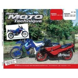 RMT Honda CBR 600F et Suzuki DR 750S, 800S