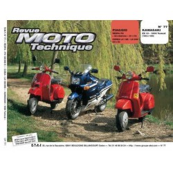 RMT Piaggio Vespa PX, LX et Kawasaki ZX10, 1000 Tomcat