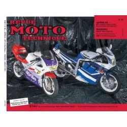 RMT Aprilia 125 AF1 et Suzuki GSX R1100