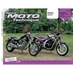 RMT Suzuki GS 500 E et Yamaha XV 535