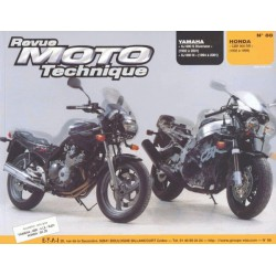 RMT Yamaha XJ 600S, 600N et Honda CBR 900 RR