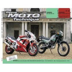 RMT Honda NX 125 et Suzuki GSX R 750 W